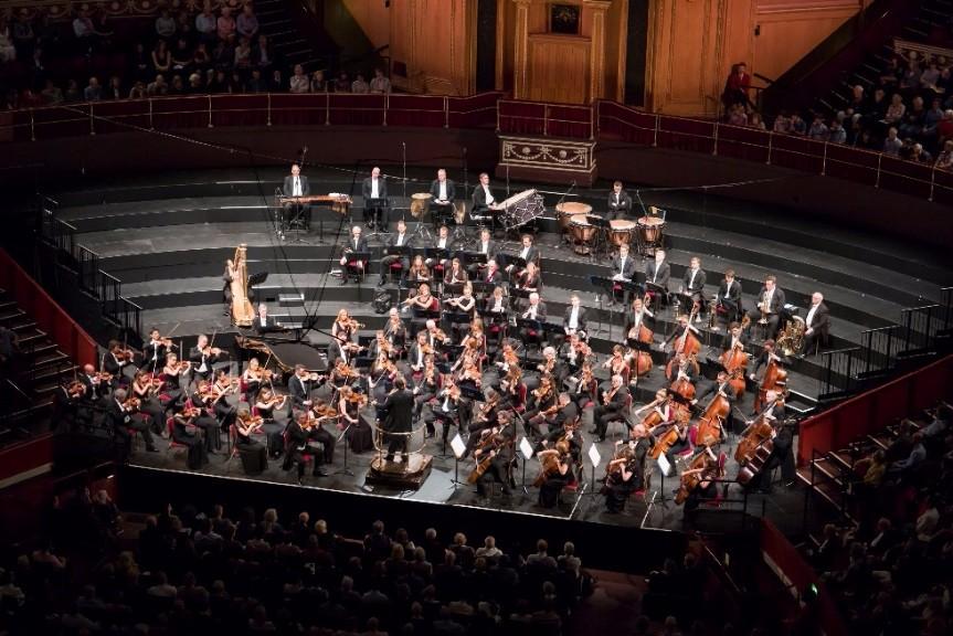 七十年歷史的英國皇家愛樂管弦樂團,來台詮釋經典名曲動人樂章。 圖/主辦單位聯合數位文創提供