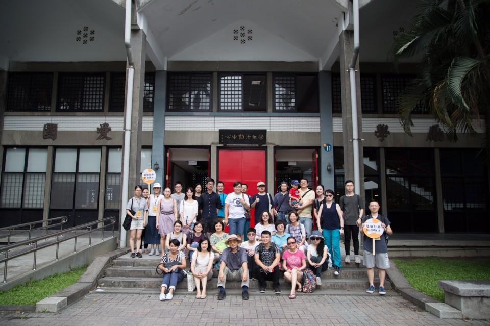 活動學員於台大學生活動中心合照;圖片提供:台大藝文中心
