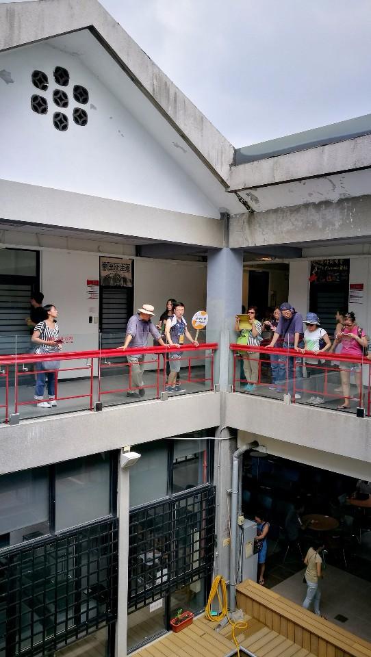 台大學生活動中心中庭;圖片提供:台大藝文中心