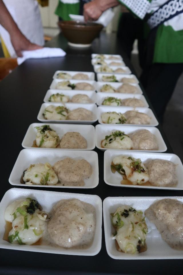 麻糬口味多元,或甜或鹹各有特色。
