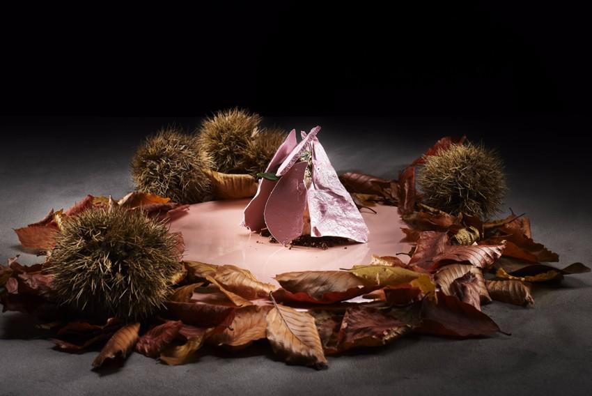 德吉洋二經典菜色:Pinkish_Mountain。