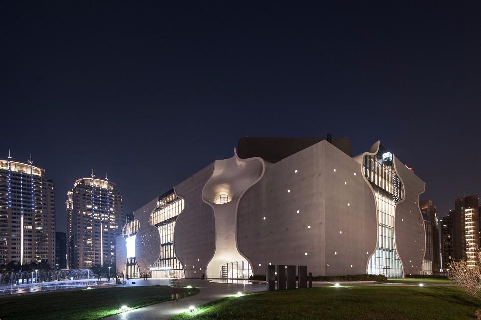 臺中國家歌劇院/大矩聯合建築師事務所+伊東豊雄建築設計事務所
