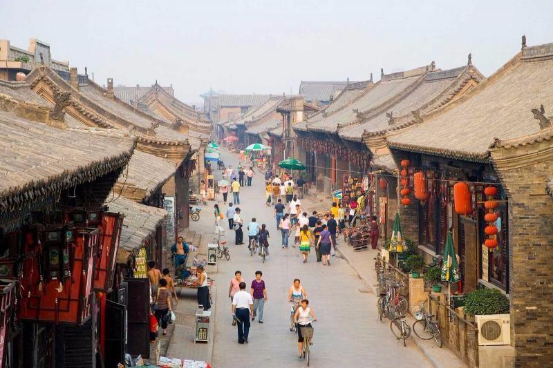 平遙古城眾多的民居建築,保持著明清時期的風貌及濃郁的地方特色(圖片:平遙古城官網http://www.pingyao.cc/)