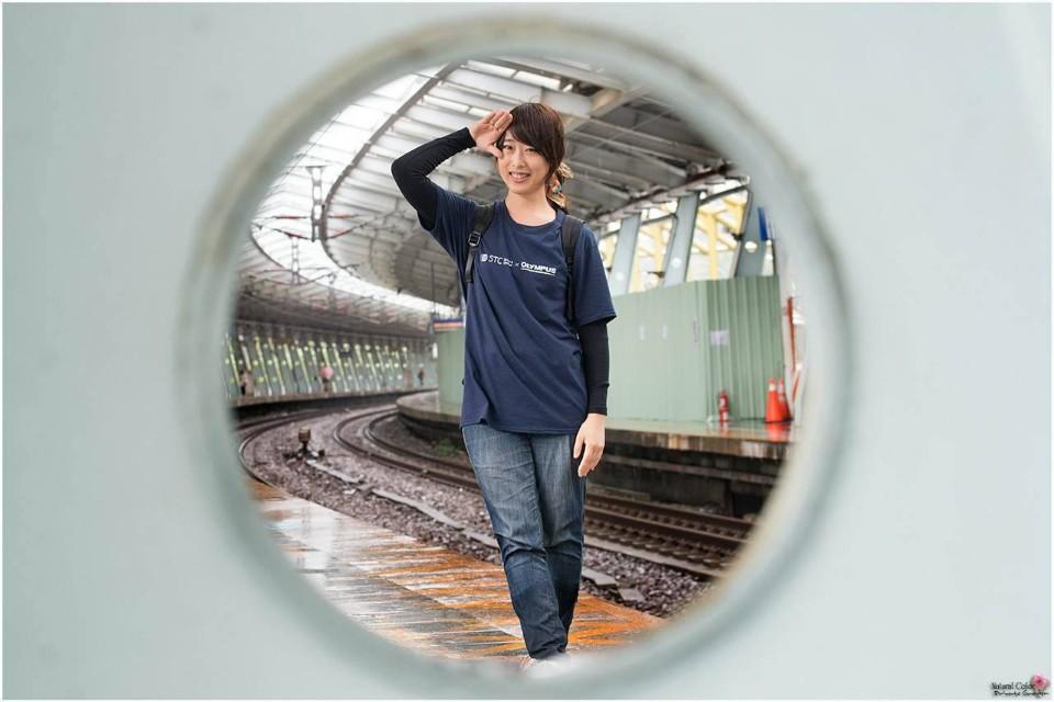 除了火車,還可以發揮巧思拍攝其他題材喔~ 圖攝/楊安生提供
