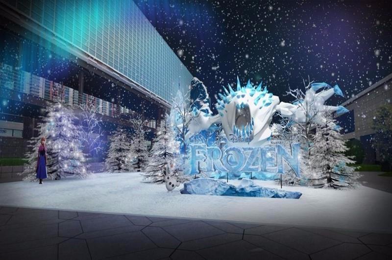 冰雪森林(照片來源:台灣華特迪士尼冰雪奇緣嘉年華官網)