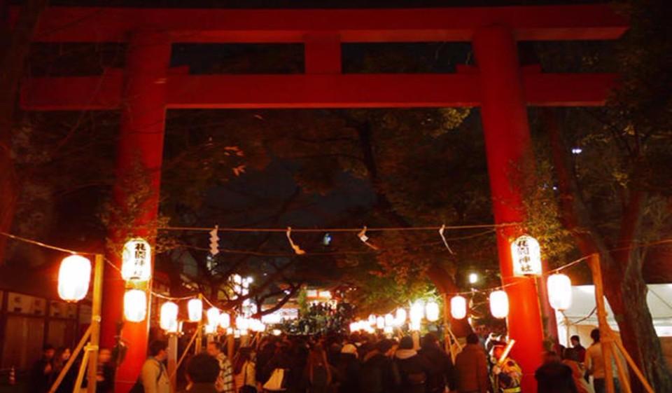 新宿花園神社(照片來源:Let