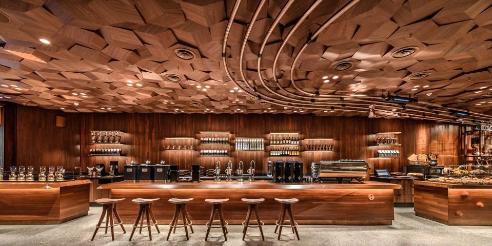 星巴克全球最長吧台在上海!「星巴克臻選 174 上海烘焙工坊」有3d列印茶吧台、vr可看咖啡烘焙 Sense 欣傳媒生活頻道
