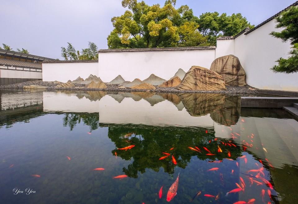 無論是小橋流水人家,還是姑蘇城外寒山寺,蘇州的人文即景總帶有一股味道。蘇州博物館/圖 鄭妍妍提供