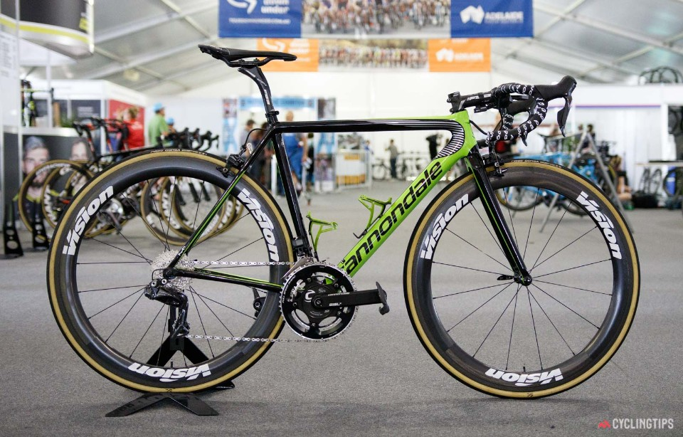 Cannondale SuperSix Evo(翻攝自cyclingtips)
