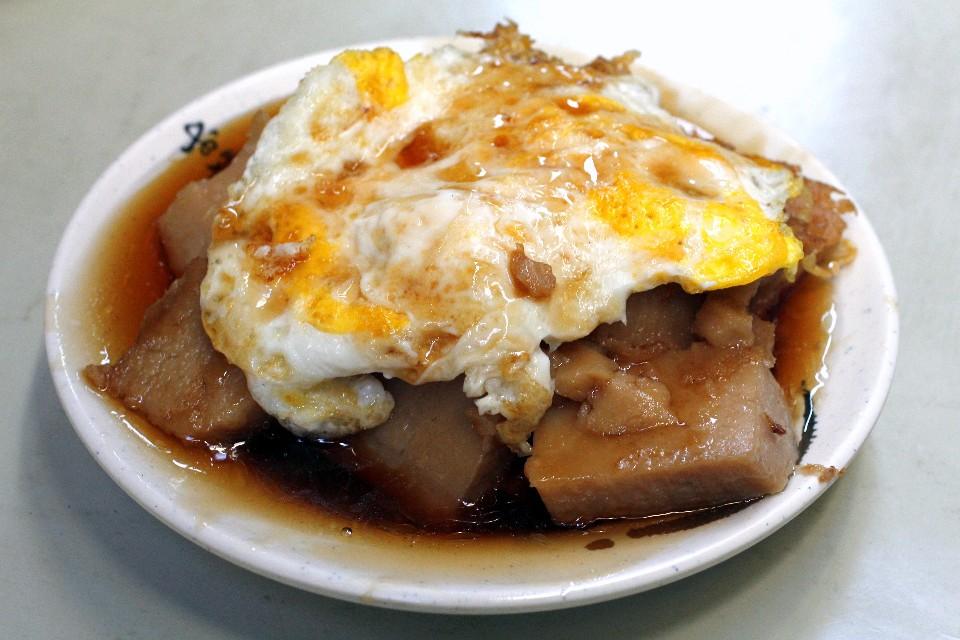火婆煎粿是不少嘉義人的早午餐首選。(攝影/散客)