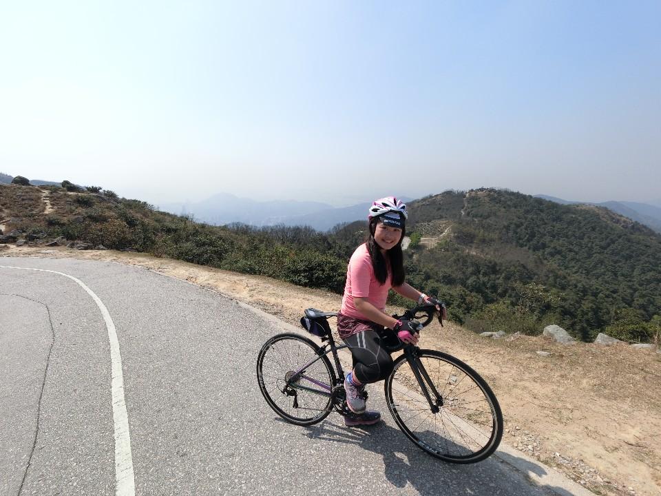 【香港單車】攻頂香港最高峰-大帽山