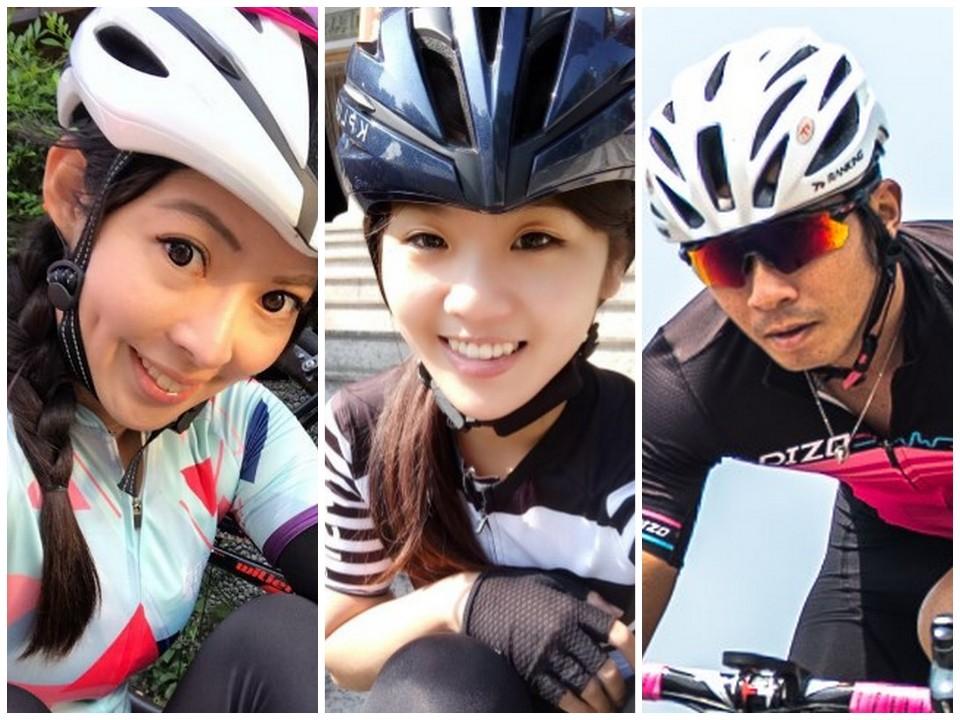 小Y、小獅妹、劉書銘等三位嘉賓將與車友歡樂共騎!(DIZO提供)