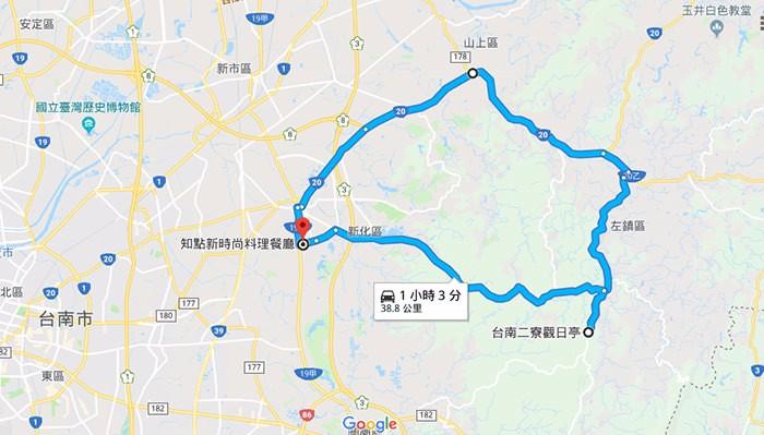 活動全程路線圖 (DIZO提供)