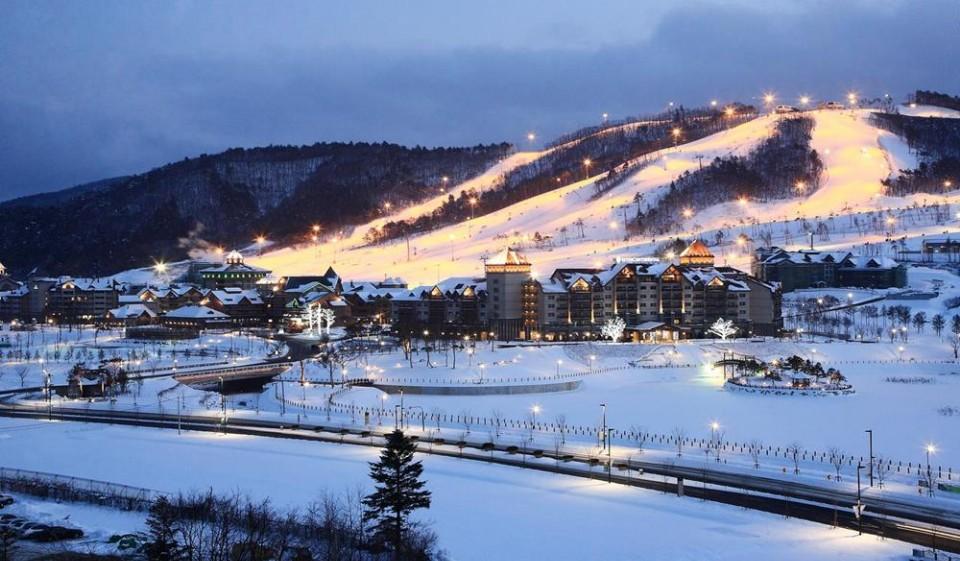 【韓國滑雪攻略】韓國滑雪渡假村,泡湯、遊樂、住宿全都包!