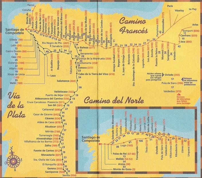 徒步西班牙朝聖之路,信仰與心靈的探索