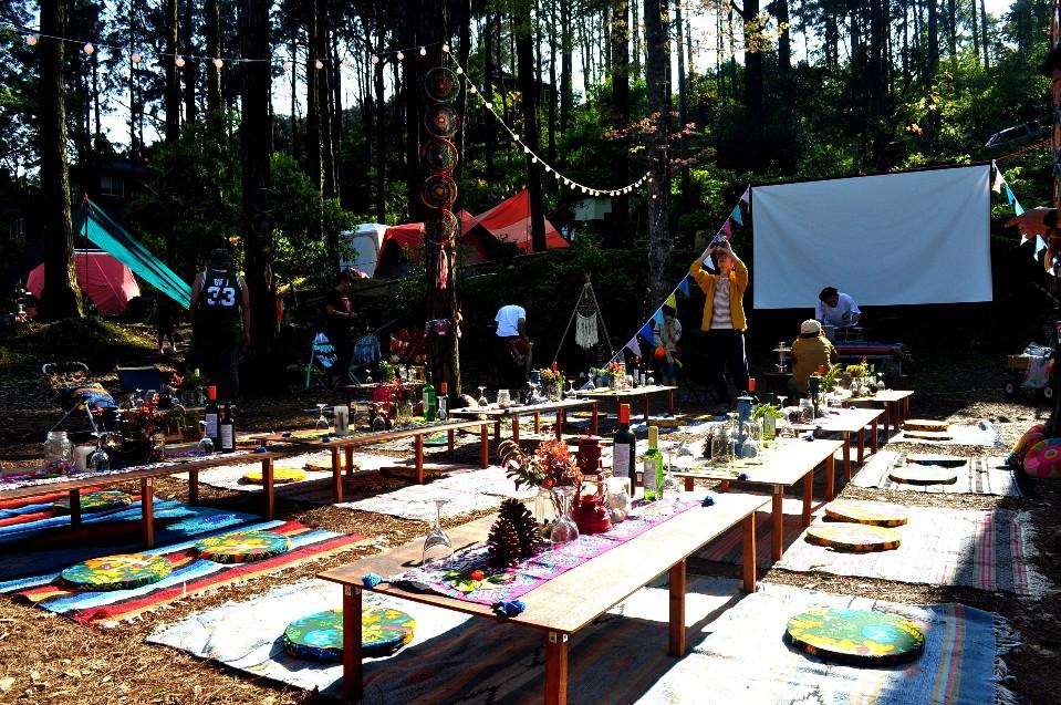 Deco Camp!露營X桑拿X音樂X美食 森林系風格派對啟動