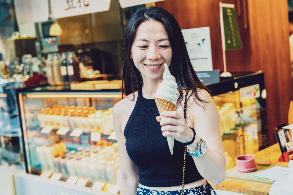 豆乳霜淇淋