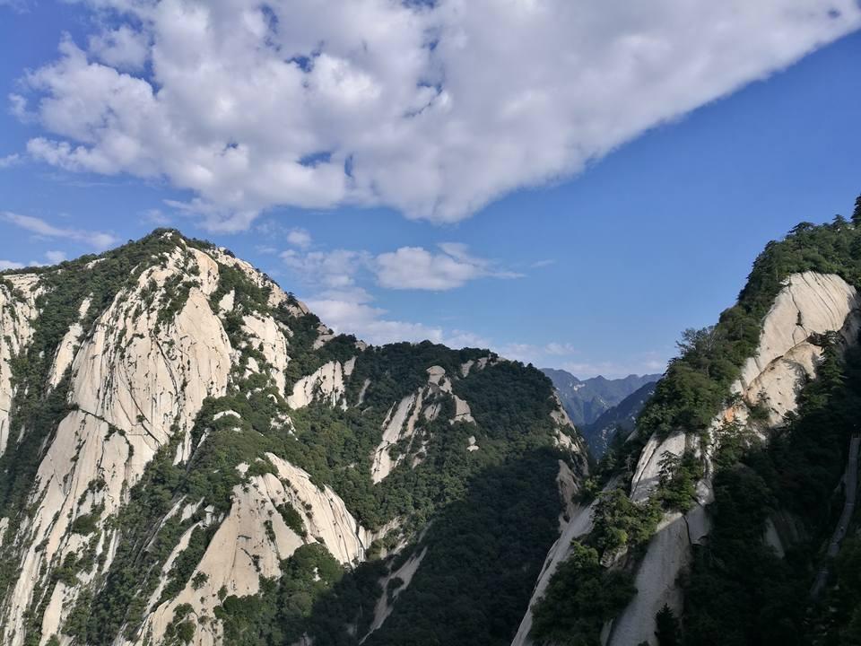 西嶽華山 壯闊美麗 金庸筆下的華山論劍