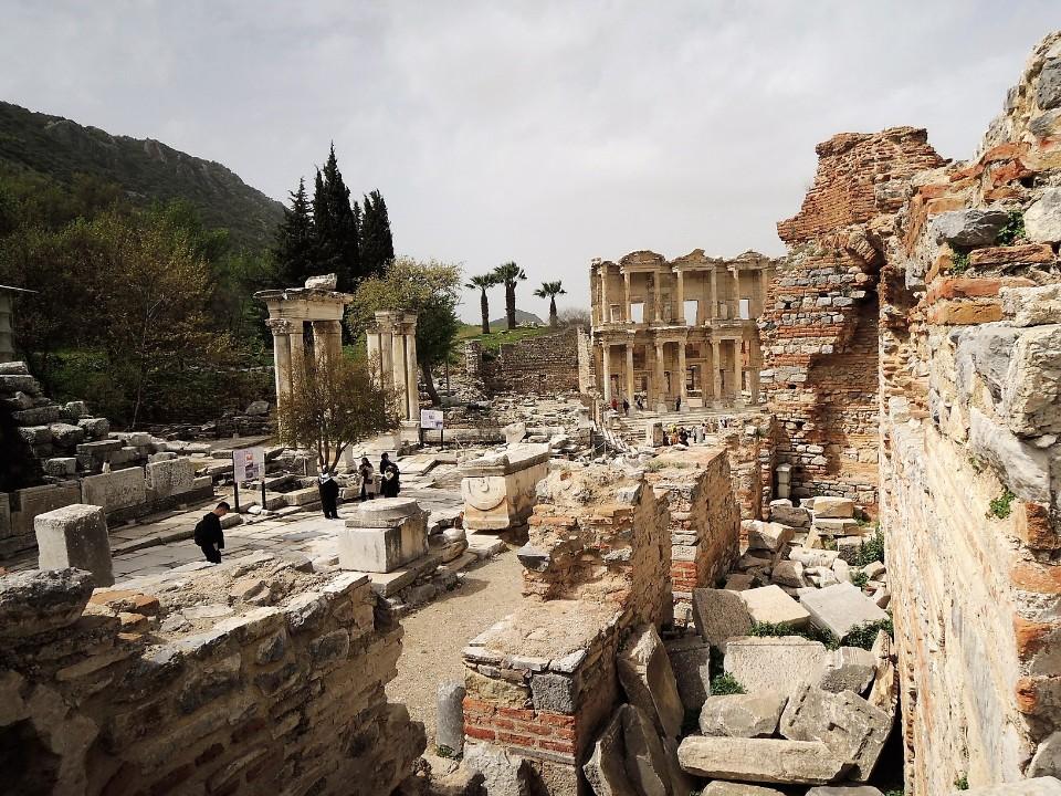 [土耳其] 艾菲索斯古城 Ephesus-保存最好的希臘羅馬古城