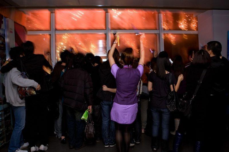 台北101觀景台 圖攝/哈米貓