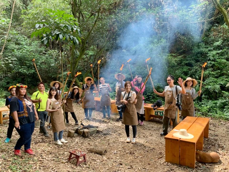 漫遊屏東安坡部落  探索山林童玩祕境  體驗傳統美食DIY