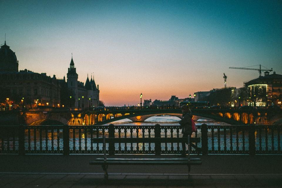 阿爾科萊橋 Pont d'Arcole 法國巴黎