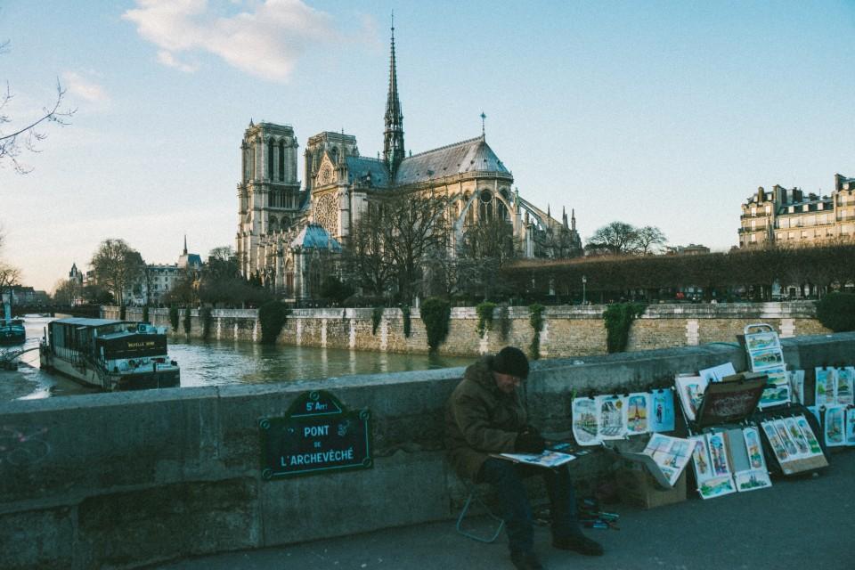 塞納河 Seine 法國巴黎