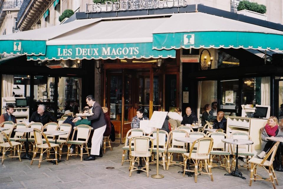 雙叟咖啡館 Les Deux Magots  法國巴黎