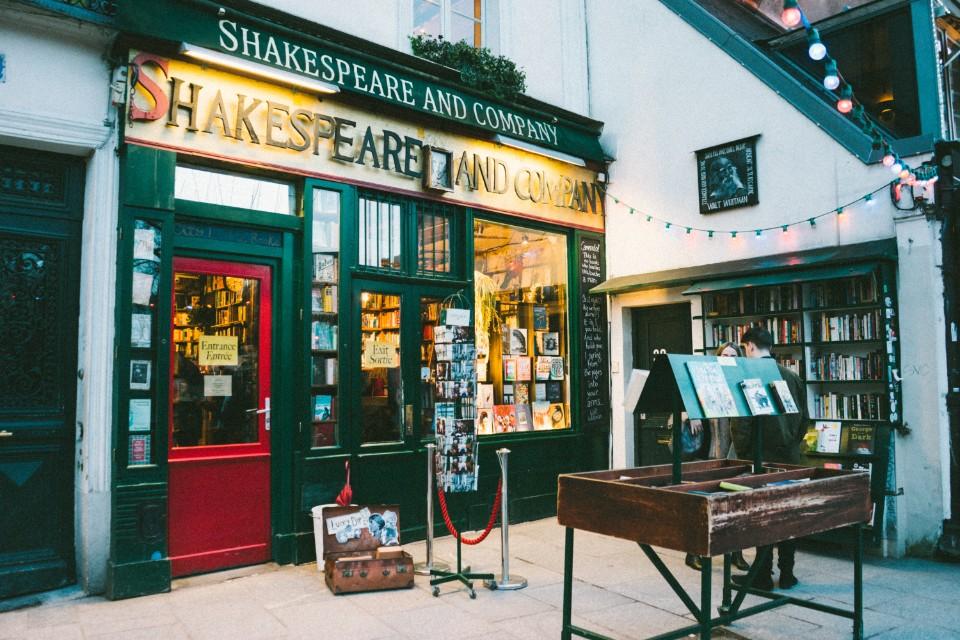 莎士比亞書店 Shakespeare and Company 法國巴黎