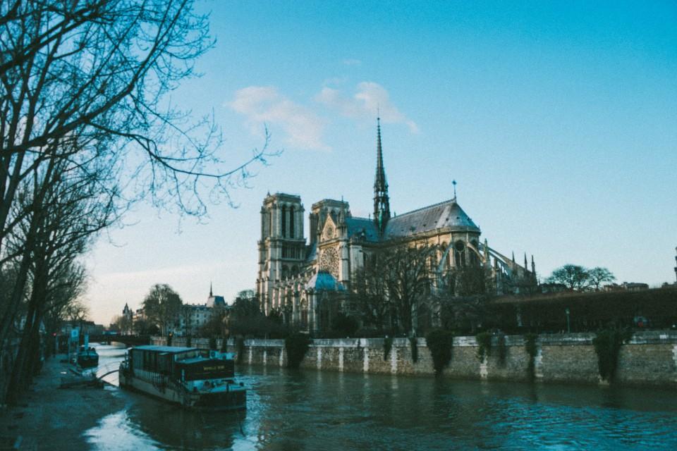 法國 巴黎 聖母院 塞納河