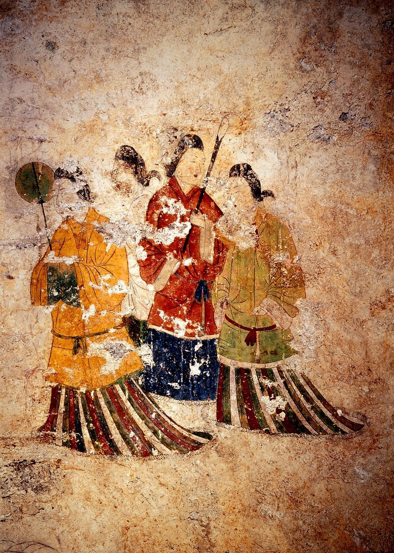高松塚壁畫
