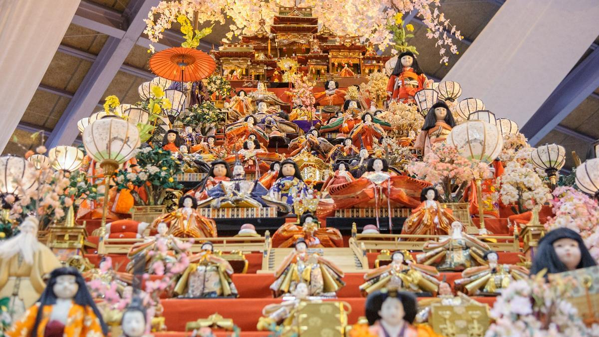 德島勝浦町BIG女兒節祭典(ビッグひな祭り)