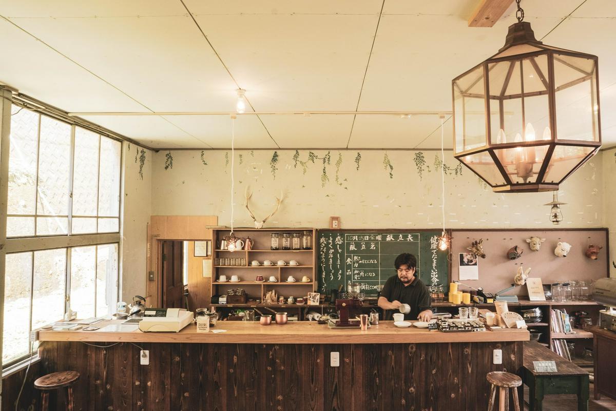 德島晴と褻(ハレとケ,Hare To Ke)青年旅館咖啡廳