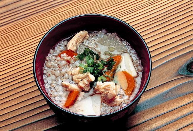 德島祖谷蕎麥米雜炊