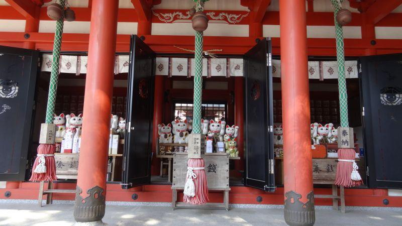 德島縣阿松大權現神社(お松大権現)