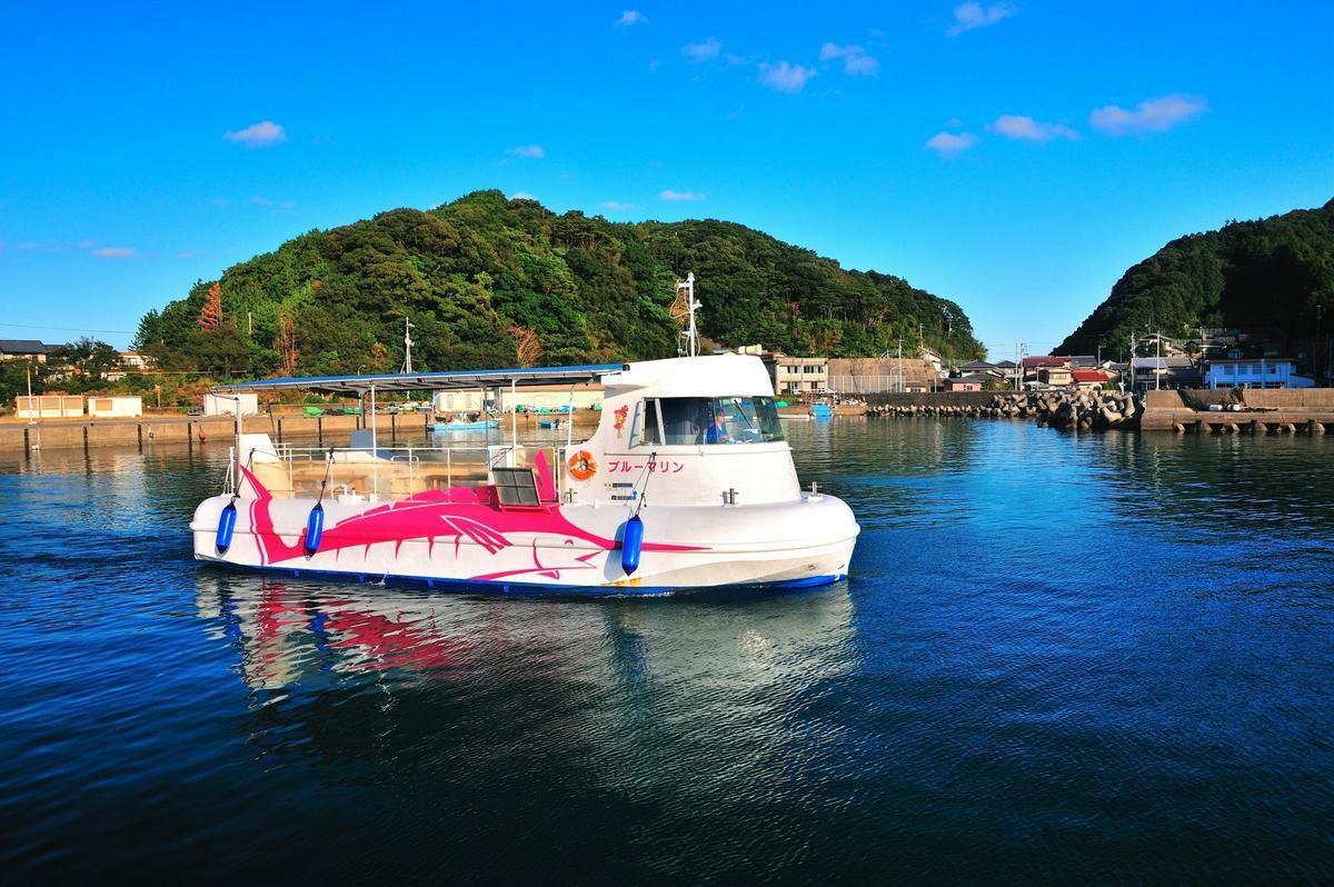 德島縣竹島海中公園觀光船