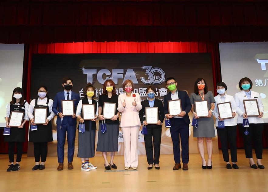 歐德傢俱、優渥實木 獲2021「TCFA服務天使獎」肯定