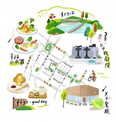 台中國家歌劇院周邊必嘗美食地圖