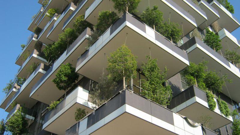 Bosco verticale for Appartamenti arredati milano