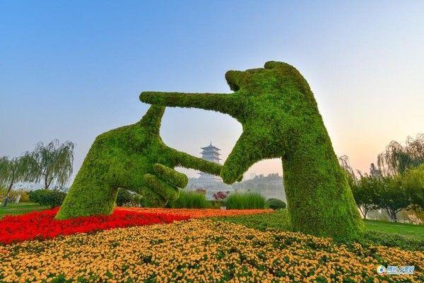 西安世博園成為一個多元化的樂園。(圖片來源 西安世博园官網)