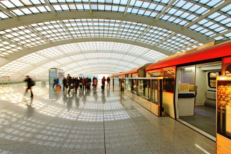 北京機場線 (圖片來源 欣傳媒)