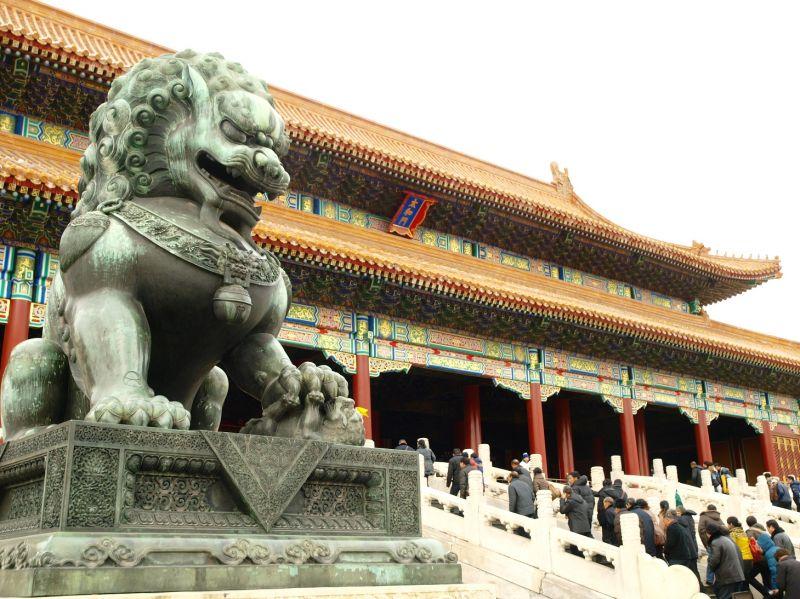北京最重要景點紫禁城(故宮),就在地鐵一號線上。(圖片來源 欣傳媒)