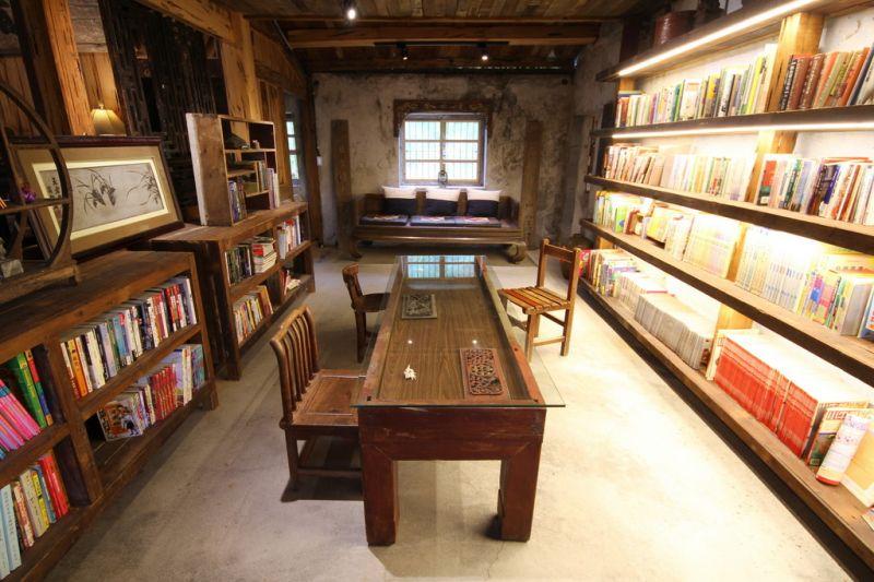 古意書齋讓冬山鄉的孩子們,多了一處閱讀的好地方。(攝影盧育君)