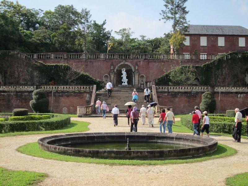 仁山植物園多樣化的歐式庭園,精緻優雅。(攝影欣傳媒)