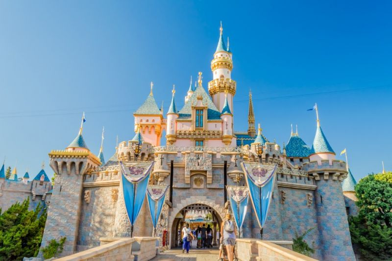 法國巴黎迪士尼睡美人城堡(圖片來源:欣傳媒資料庫)