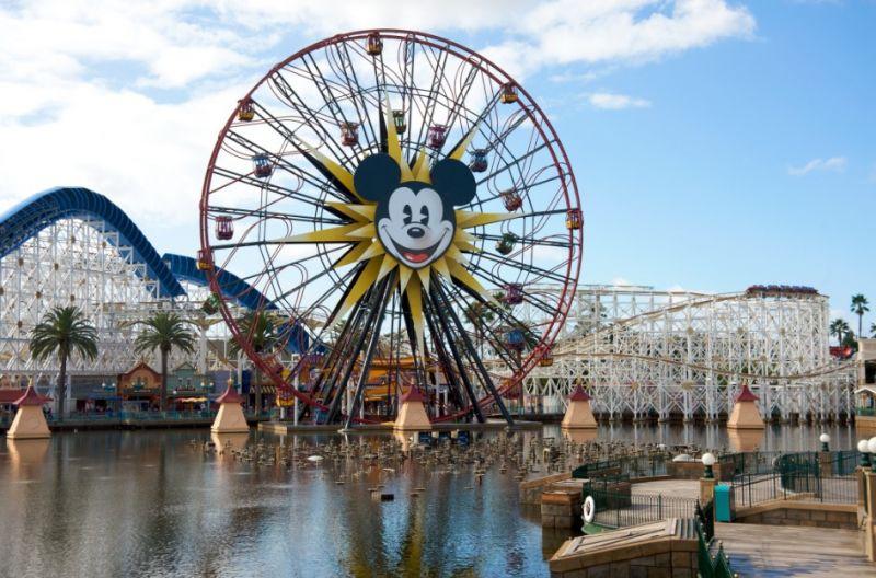 加州迪士尼(圖片來源:欣傳媒資料庫)