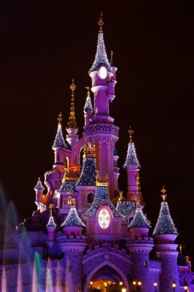 法國巴黎迪士尼城堡(圖片來源:欣傳媒資料庫)