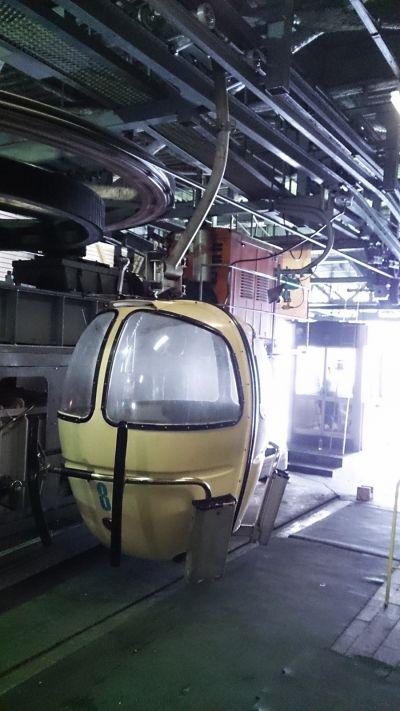 感覺很像太空艙的Gondola。(photo by 阿福)