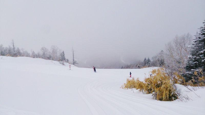 左轉是天狗滑道,右轉可以前往寺小屋。(photo by 阿福)