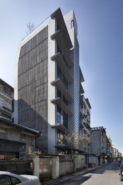 集合住宅類 【優選】樹與屋;圖片提供:台灣建築報導雜誌社